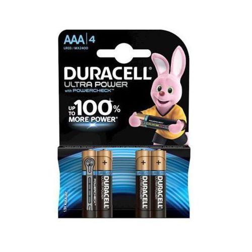 Baterie DURACELL Ultra Power AAA 4szt. (5000394062931)