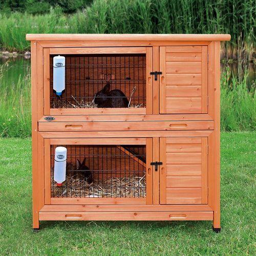 Trixie klatka dla królików 'natura' 2 piętrowa116×111×65 cm - darmowa dostawa od 95 zł! (4011905624020)