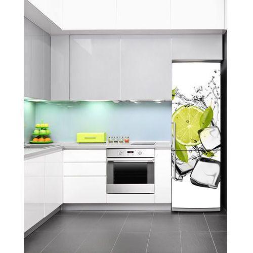 Mata magnetyczna na lodówkę - świeża limonka 4237 wyprodukowany przez Stikero
