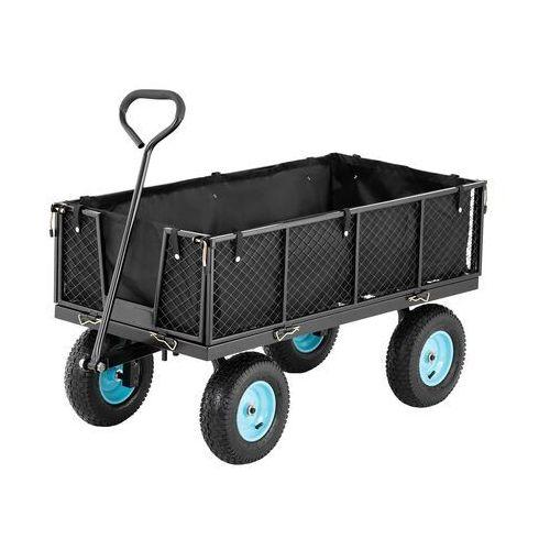 wózek ogrodowy - składany - 550 kg ht-twin 550 - 3 lata gwarancji marki Hillvert