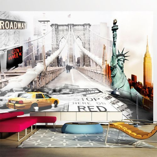 Fototapeta - nowojorskie ulice marki Artgeist
