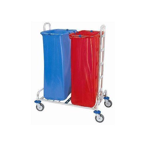 Wózek na odpady chromowany 02.120.CH Splast ODP-0003, S.ODP-0003