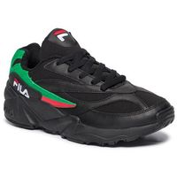 Sneakersy FILA - Venom Low Cr 1010544.11J Black/Fila Red/Fern Grey
