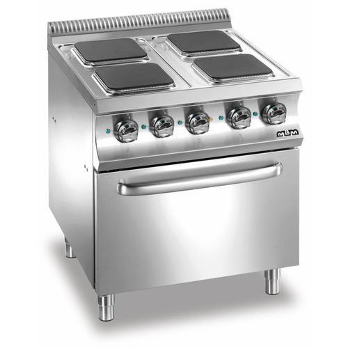 Mbm Kuchnia elektryczna 4 płytowa z piekarnikiem el. gn 2/1   15700w