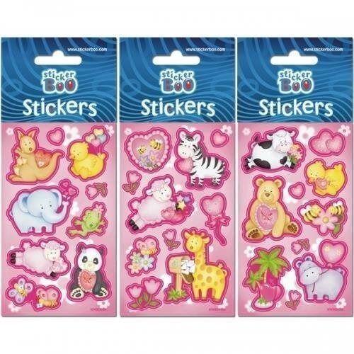 Naklejki sticker boo mini zoo