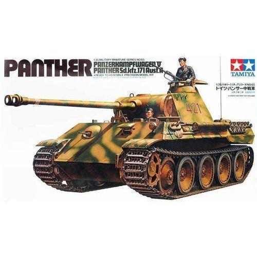 TAMIYA German Panther Med Tank (4950344995479)