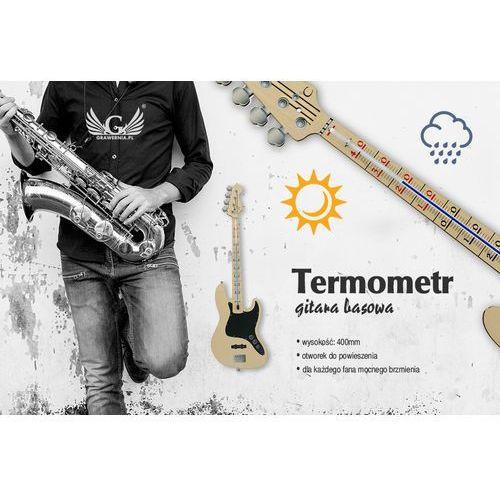Grawernia.pl - grawerowanie i wycinanie laserem Termometr basisty - gitara basowa - kolorowy druk uv - ter001