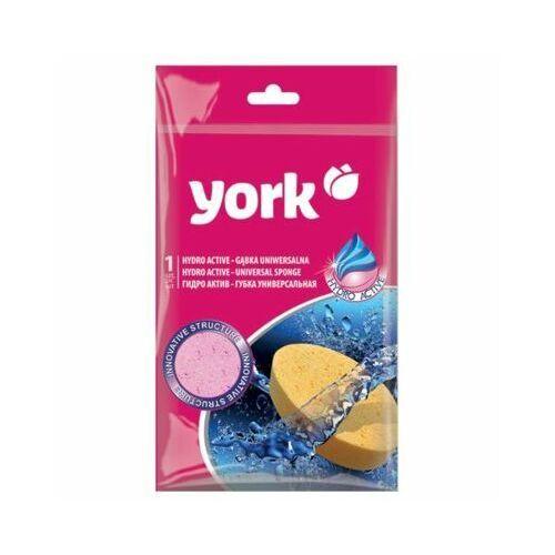 York Gąbka hydroactive różowy