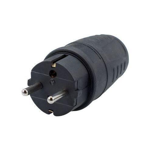 PAWBOL Wtyczka gumowa przenośna 250V, 16A, IP 44 D.3158 (5908289621839)