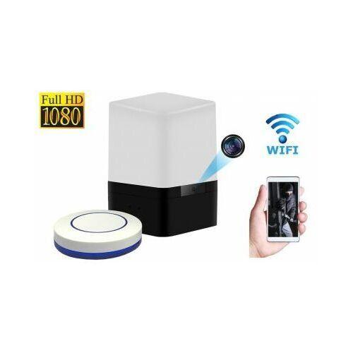 Szpiegowska kamera full hd wifi/p2p (zasięg cały świat!) ukryta w biurkowej lampce + zapis... marki Spy