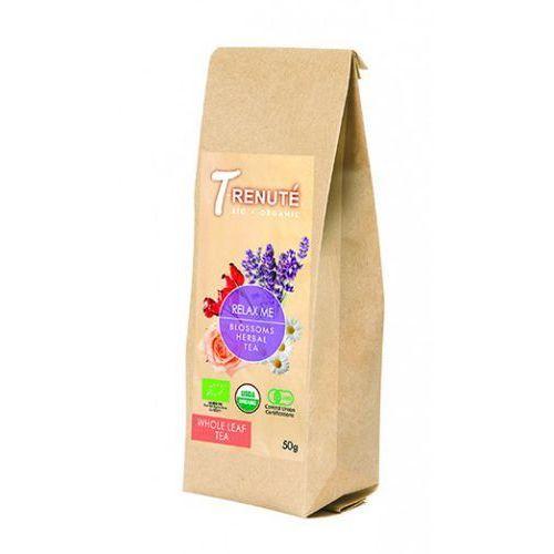 T'renute (herbaty) Herbatka kwiatowo - ziołowa relax me bio 50 g - t'renute (4792038700422)