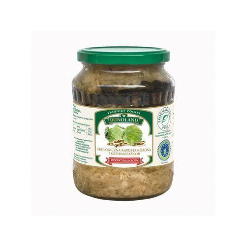 Kapusta kiszona z grzybami leśnymi 700g - produkt z kategorii- Przetwory warzywne i owocowe