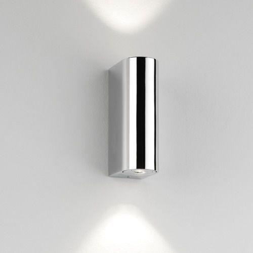 Astro Alba mk2 led up/down wall light chrome (5038856008289)