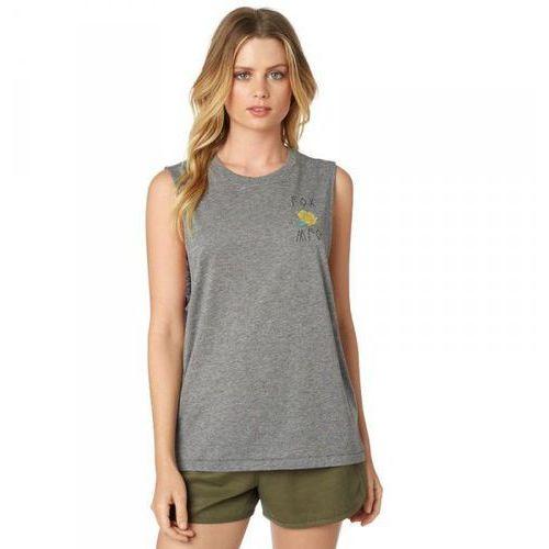 Koszulka lady bez rękawów rosey heather graphite marki Fox