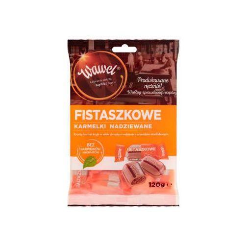 Cukierki nadziewane karmelki fistaszki marki Wawel