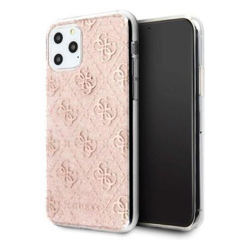 guhcn65pcu4glpi iphone 11 pro max różowy/pink hard case 4g glitter marki Guess