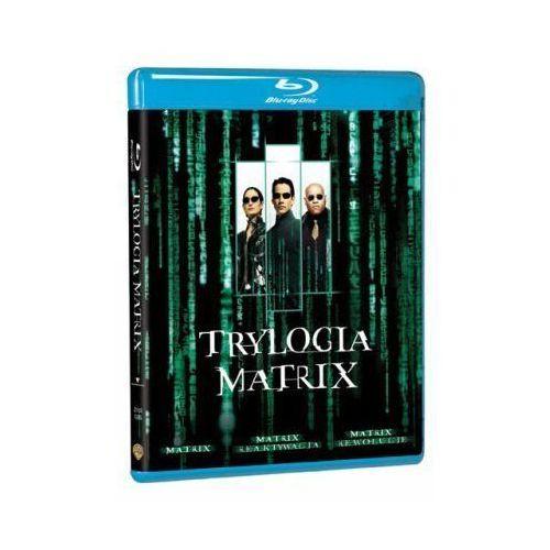 Matrix (trylogia, blu-ray) (Płyta BluRay)