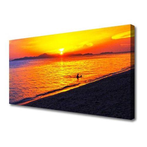 Obraz na Płótnie Morze Słońce Plaża Krajobraz