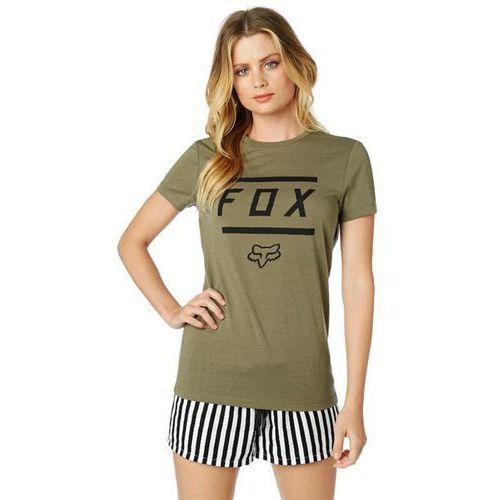 Fox Koszulka - listless ss crew tee fatigue green (111) rozmiar: l