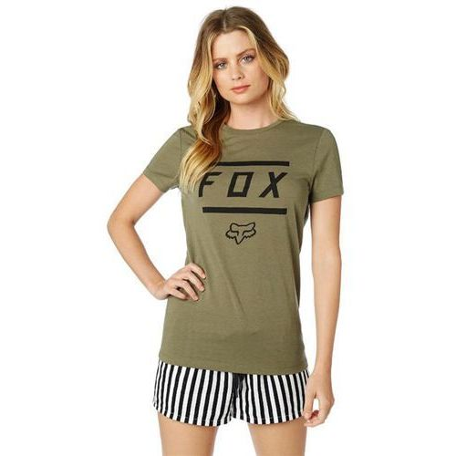 Koszulka - listless ss crew tee fatigue green (111) rozmiar: xs marki Fox