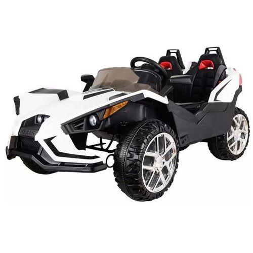 Hecht czechy Hecht 58888 white samochód akumulatorowy jeździk z napędem elektrycznym akumulatorowym zabawka samochód dla dzieci