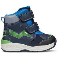 Geox buty zimowe za kostkę chłopięce New Gulp 20 niebieski
