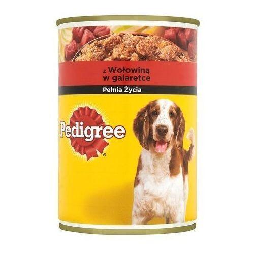 PEDIGREE Wołowina 400 g- RÓB ZAKUPY I ZBIERAJ PUNKTY PAYBACK - DARMOWA WYSYŁKA OD 99 ZŁ z kategorii Karmy dla psów