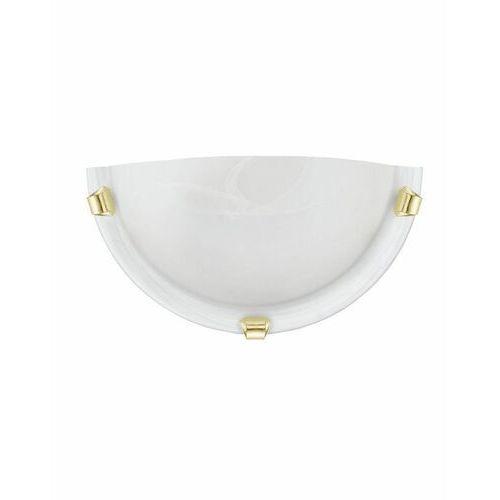 Eglo 7187 - Kinkiet SALOME 1xE27/60W/230V alabastrowe szkło