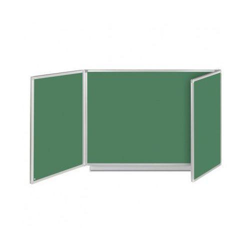 Tablica rozkładana, tryptyk, kredowa, magnetyczna, 360x120 cm marki B2b partner