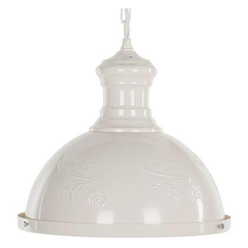 Beliani Lampa wisząca kremowa didessa (4260624111421)