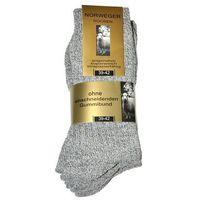 Skarpety WiK Norweger Wolle art.20110 A'3 ROZMIAR: 43-46, KOLOR: szary melange, WiK