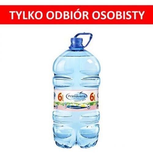 Woda PRIMAVERA 6L niegazowana butelka PET