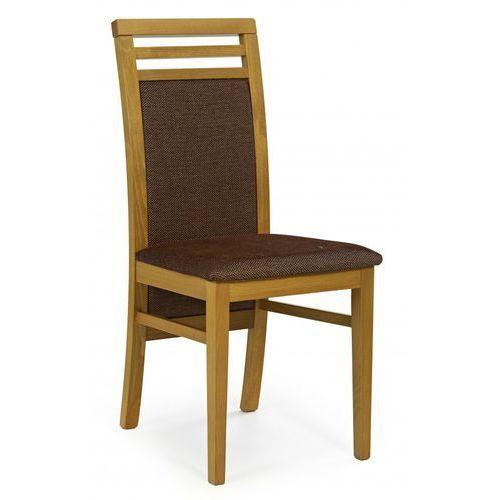 Halmar Stylowe krzesło z drewna do salonu sylwek 4 olcha / gwarancja 24m / najtańsza wysyłka!