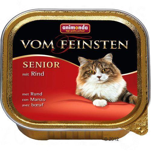 vom feinsten senior cat z wołowiną 100g marki Animonda