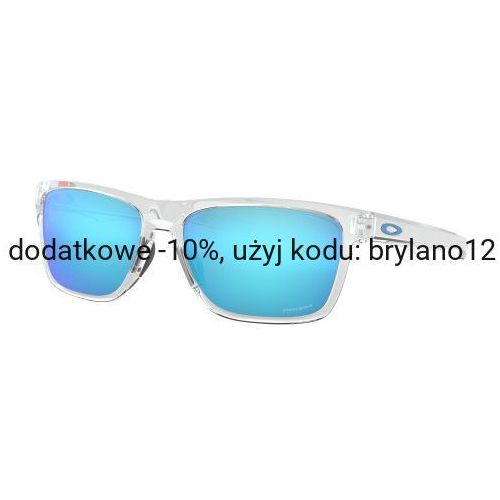 Okulary Oakley Holston Polished Clear Prizm Sapphire Iridium OO9334-1358