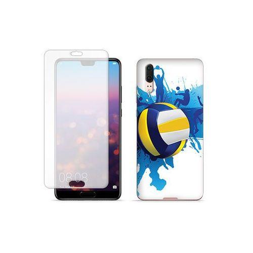 Huawei P20 - etui na telefon Full Body Slim Fantastic - piłka siatkarska