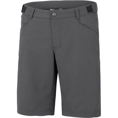 Ziener cottas x-function spodnie rowerowe mężczyźni szary 50 2018 spodenki rowerowe
