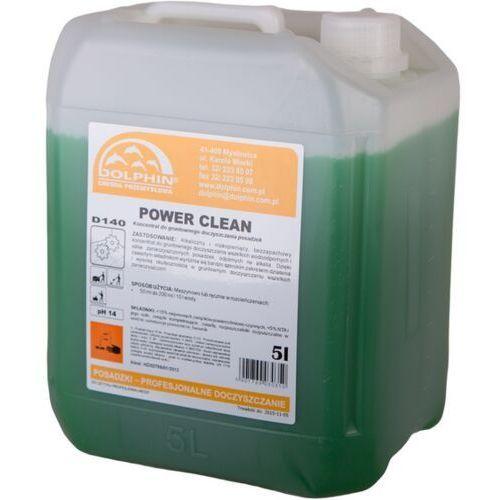 Bardzo mocny płyn do czyszczenia Power Clean 5 l Silny środek do mycia, Dobry tani płyn czyszczący (5901769030350)