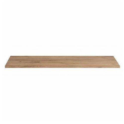 Prostokątny blat łazienkowy - malta 10x dąb 120 cm marki Producent: elior