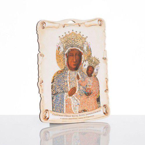 Obrazek religijny z Matką Boską Częstochowską, URODC003