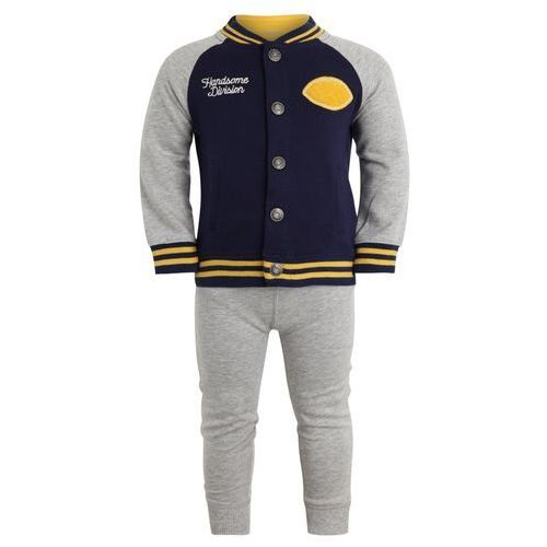 Carter's BOY NAVY YELLOW HANDSOME BABY SET Body heather