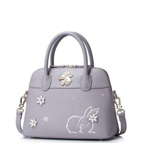 Delikatny kuferek z królikiem Purpurowy, 171248-29 (6977731)