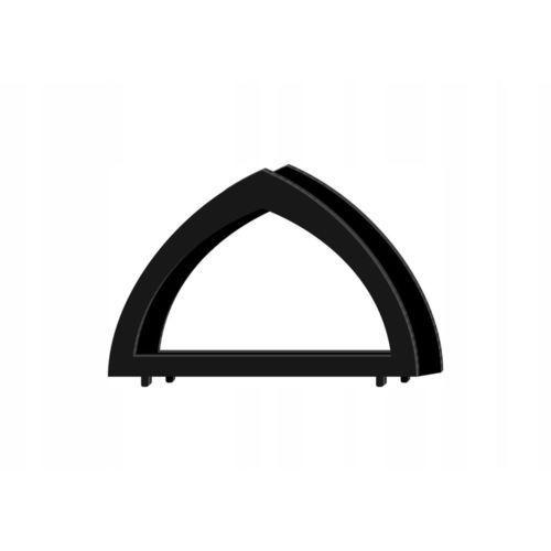 Serwetnik metalowy prosty r6/14cm