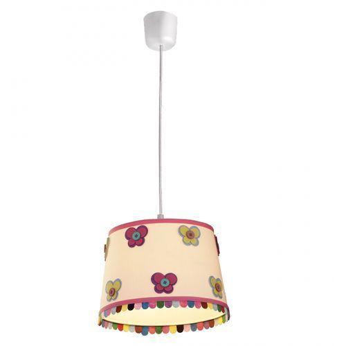 lampa wisząca BUTTERFLY różowa, LIGHT PRESTIGE LP-PD024 róż.