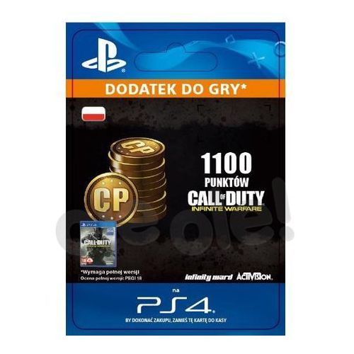 Call of Duty: Infinite Warfare - 1100 punktów [kod aktywacyjny], SCEE-XX-S0028734