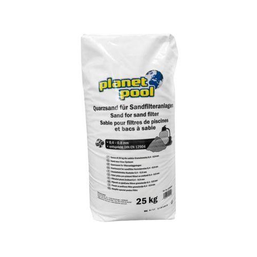 Piasek kwarcowy 25kg filtr piaskowy chemia marki Chemia basenowa - OKAZJE