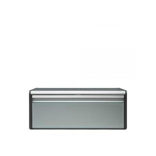 Brabantia Chlebak prostokątny metaliczny miętowy -