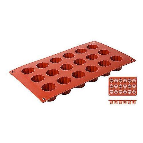 Mata silikonowa do Bordelais, 8 foremek, 300x175x35 mm | CONTACTO, 6639/318