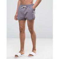 Selected Homme Runner Swim Shorts - Grey, kolor szary