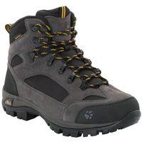 all terrain 8 texapore buty mężczyźni szary uk 9,5 | eu 44 2019 trapery turystyczne marki Jack wolfskin